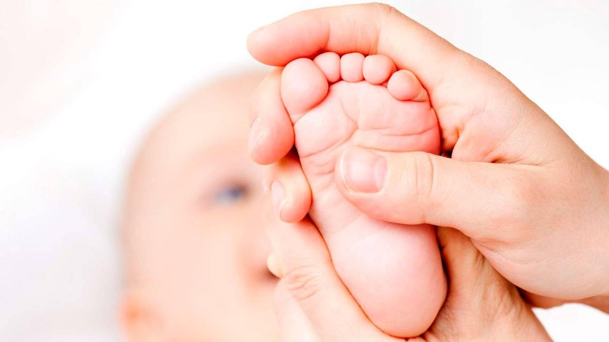 Reflexología podal para niños
